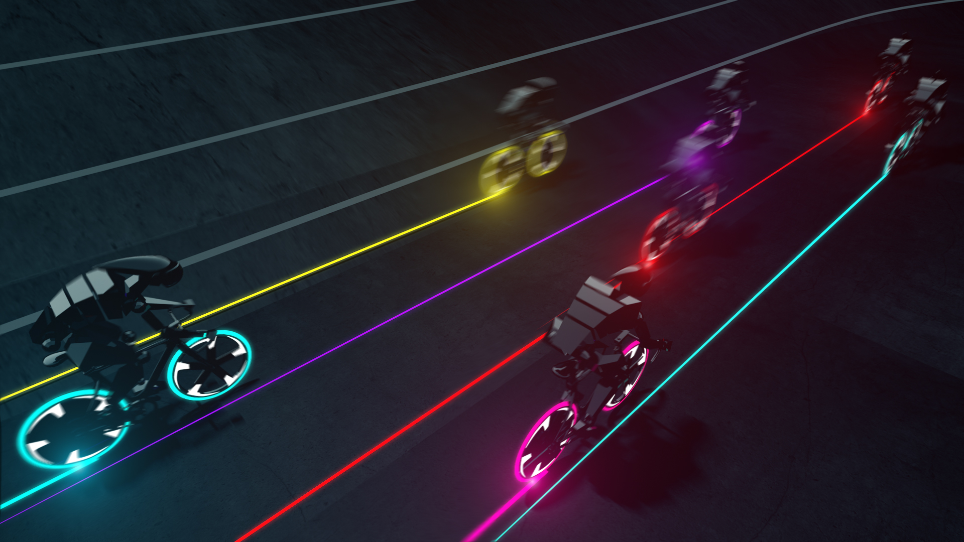3D Cyclsists