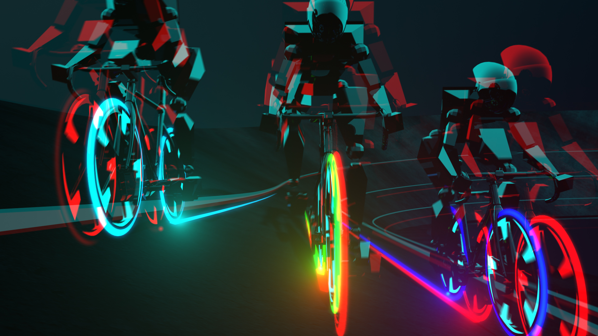 3D Cyclists