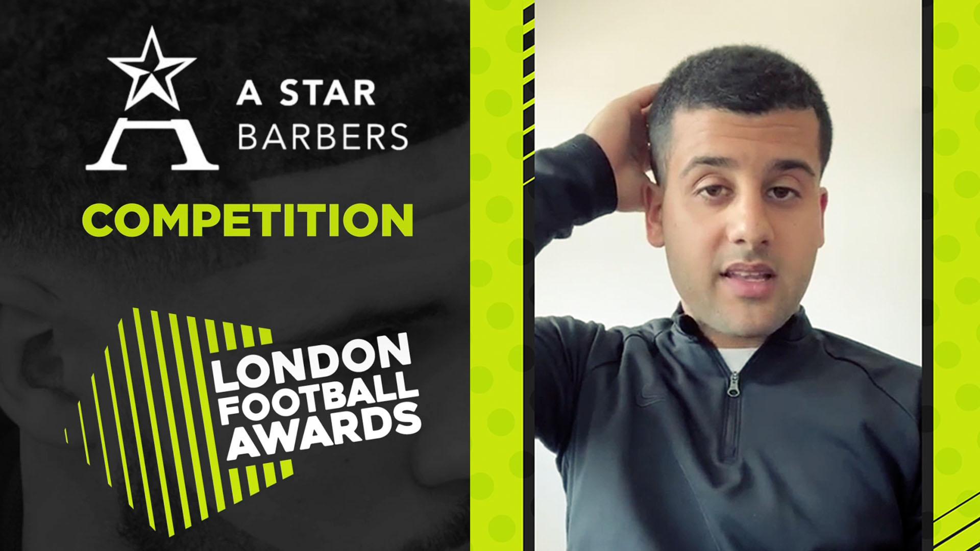 London Football Awards Ahmed Alsanawi,